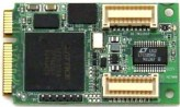 Analog and Digital I/O PCIe MiniCard Module
