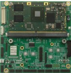 Compact Form Factor I/O Baseboard with ARM COMs