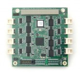 PCI/104-Express 4- or 8-Port RS-232/422/485 Serial I/O Module